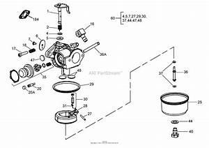 Stratton Lawn Mower Carburetor Diagram 498170