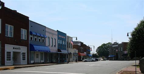 downtown granite falls nc flickr photo