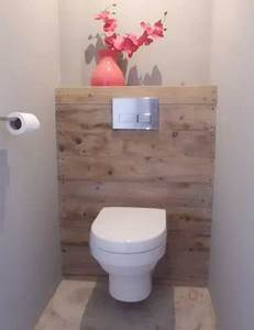 10 facons d39arranger la deco de ses wc coin toilette wc With quelle couleur pour les toilettes 5 carrelage toilette murale