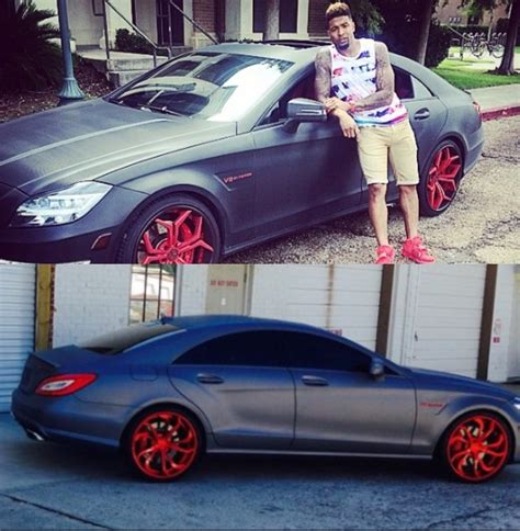 Beckham Car by Ny Giants Odell Beckham Jr Poses With His Cls 63 Amg