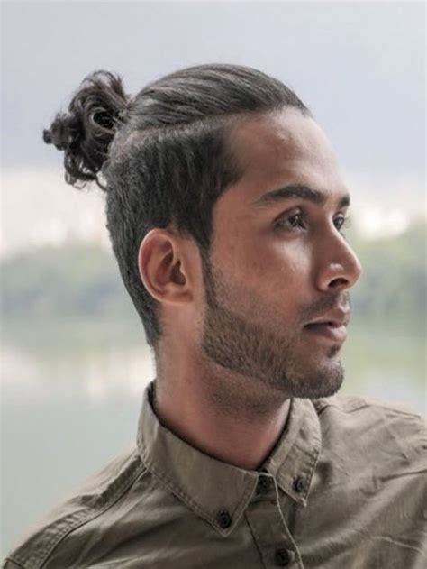 coolest man ponytail hairstyles     mens hairstyles haircuts