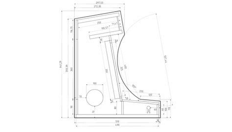 Bartop Arcade Cabinet Plans Pdf by Bartop Arcade Cabinet Part 1 Design Ezcontents
