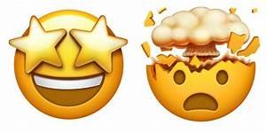 Blow my mind, starry-eyed emojis (With images) | Emoji ...