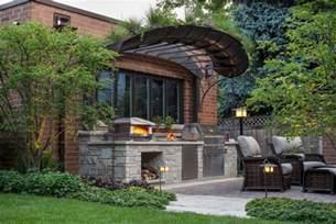 küche mit geräten outdoor küchen ideen
