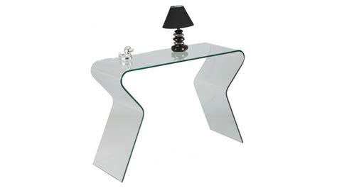 canapé 3 places convertible console design en verre courbé console verre pas cher