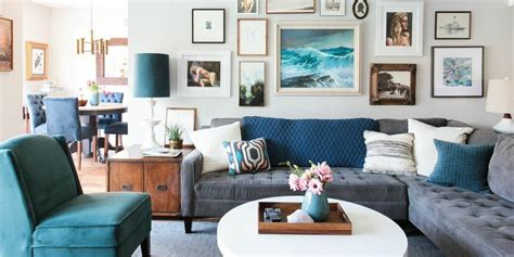 blue table ls for living room coffee table styling ideas what to put on your coffee table