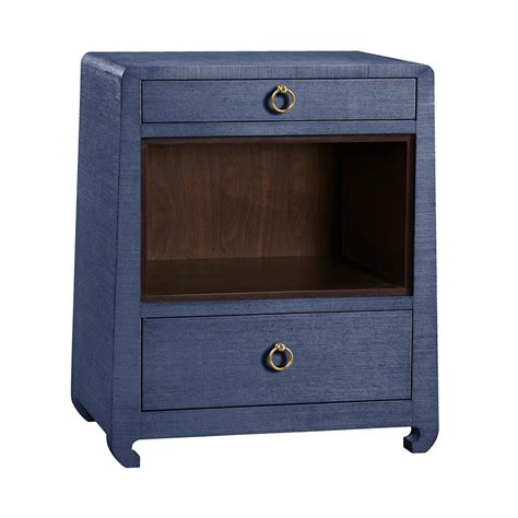 Blue Nightstand by Ming Blue Nightstand By Bungalow 5 Collectic Home