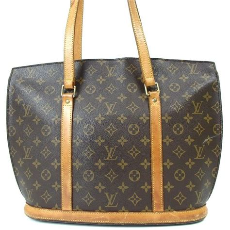 louis vuitton babylone tote brown leather satchel tradesy