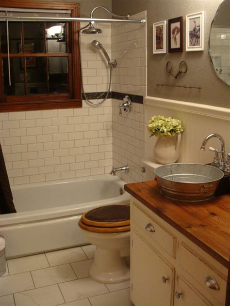 western style bathroom sinks 1940 39 s bungalow bathroom farmhouse western style