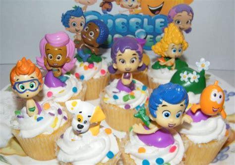 cake decorating nickelodeon bubble guppies deluxe figure
