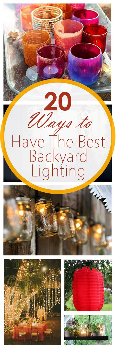 Every backyard party needs some kind of music. 20 Great Ways to have the BEST Backyard Lighting ~ Bees and Roses