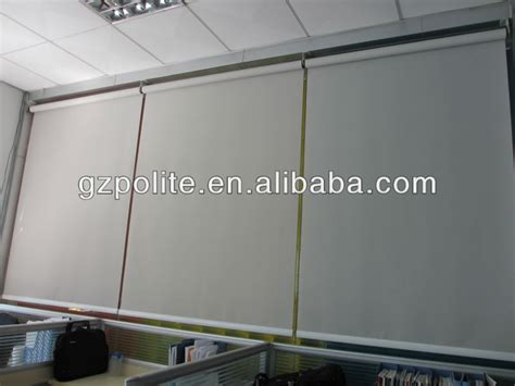 china factory polite automatic roll window curtains