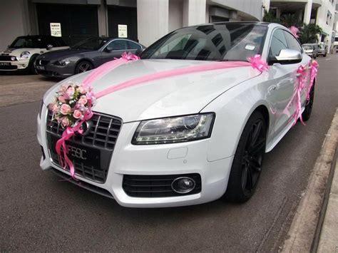dsign wedding cars tips for having beautiful wedding car decorations elasdress