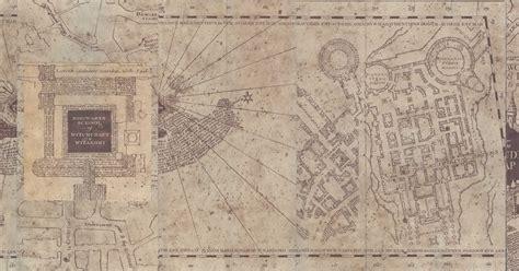 harry potter paraphernalia marauders map