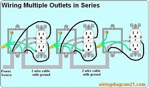 Wiring Multiple Outlets Diagram