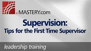 Supervisor Tips Supervision Tips For The First Time Supervisor