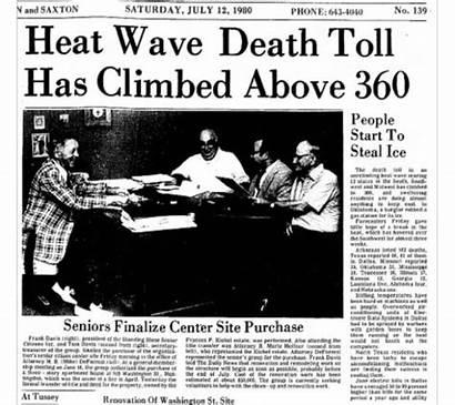 1980 Heat Wave Date Alabama Headlines History