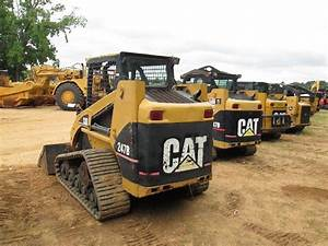 Cat 247b Skid Steer Loader  S  N Mtl02349   05 Yr  Gp