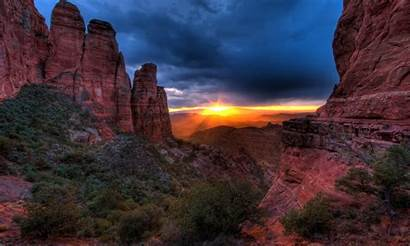 Arizona Sedona Sunset Butte Cathedral Tablet States