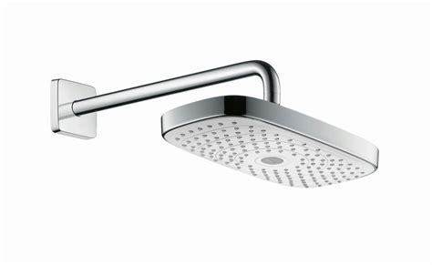 hansgrohe raindance select 420 raindance select e 300 wall mounted overhead shower by hansgrohe design design