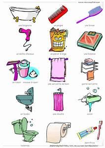 Objet Salle De Bain : id e d coration salle de bain la salle de bains vocabulaire objets de la salle de bains ~ Melissatoandfro.com Idées de Décoration