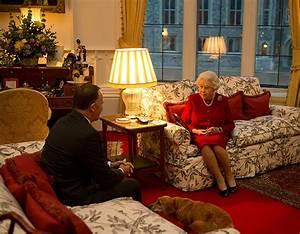 Inside The Queen39s Sitting Room In Windsor Castle