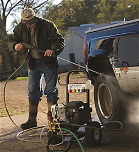 selecting  pressure washer tractor supply