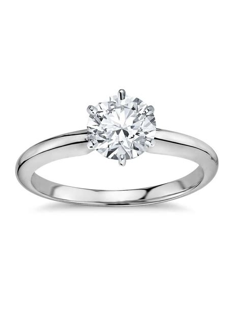 1 23 carat diamond platinum engagement ring