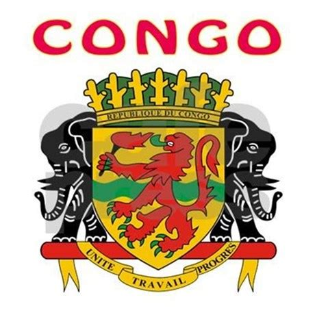 Congo Coat Of Arms Ornament (round) By Tshirts4countries