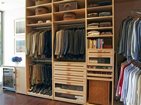 stylish mens walk  closet ideas hgtv