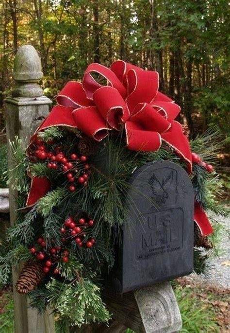 christams mail box cristmas elegant christmas decor