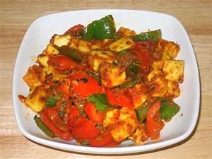 Kadhai (Kadai) Paneer Manjula's Kitchen Indian