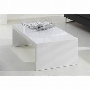 Table Basse Blanche Pas Cher : table basse pas cher blanche petite table basse blanche maisonjoffrois ~ Teatrodelosmanantiales.com Idées de Décoration