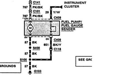 Fuel Gauge Wiring Pin Out Diagram Fuse Box