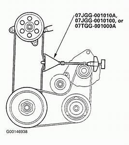 2002 Honda Odyssey Serpentine Belt Diagram