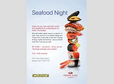 Seafood Night La Mosaique Restaurant Events