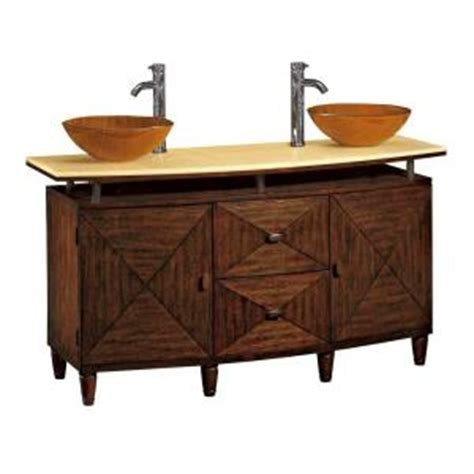 asian home decorators kyoto double glass bowl sink vanity