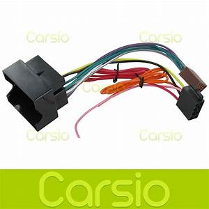 Vauxhall Vivaro Iso Lead Wiring Harness Connector Stereo