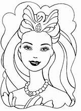 Girly Coloring Pages Sheet Printable Sheets Barbie Getcolorings sketch template