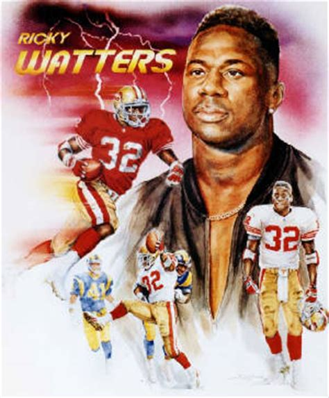 san francisco ers nfl autographed ricky watters sports