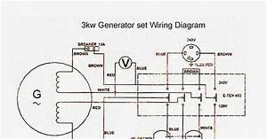 Portable Gensets Wiring Diagram