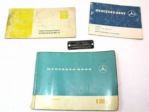 Mercedes Operating Instructions Owners Manual 309d 0 309 D