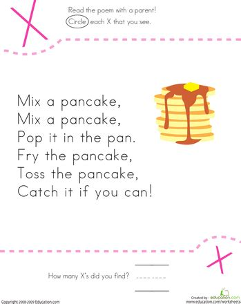 find the letter x mix a pancake count 159 | 3ac9cf252b314ce80471b2329539f478