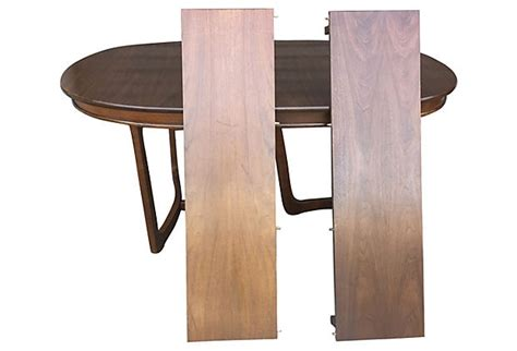 Mid Century Oval Dining Table  Modern Vintage Mix