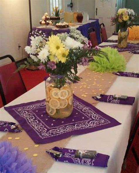 country wedding table decorations 13 best images about bandana wedding on pinterest