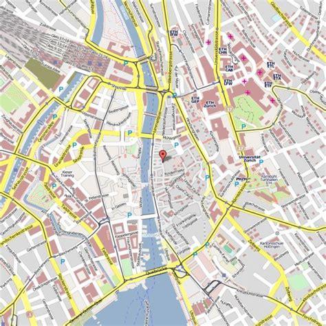 map  zurich holidaymapqcom