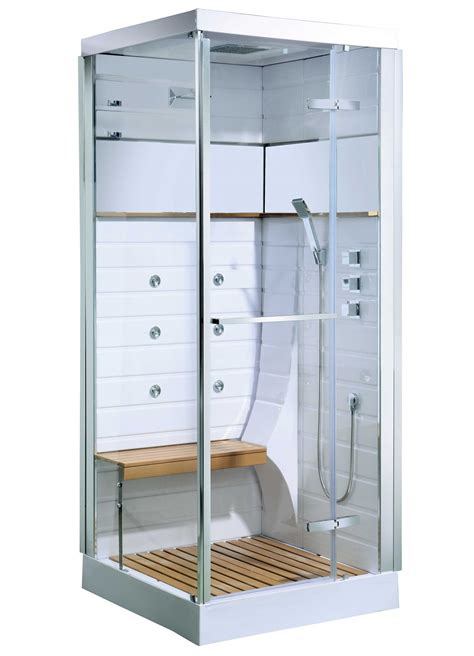 cabine de osaka avec porte pivotante blanc homebain vente en ligne cabines de