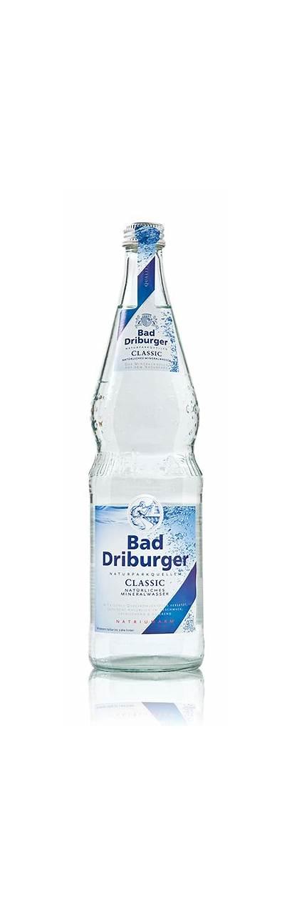 Driburger Bad Mineralwasser Glas Liter