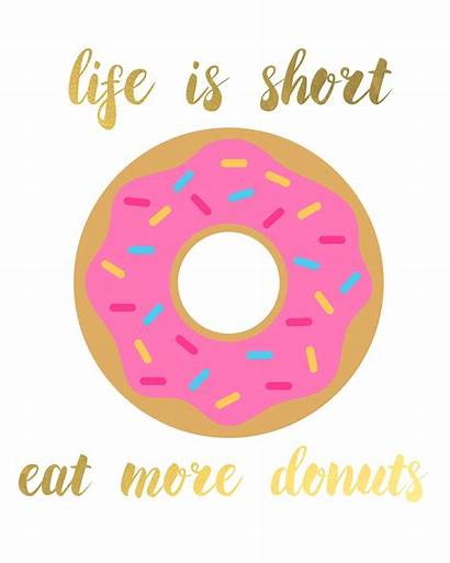 Donut Donuts Birthday Quotes Printables Party Printable