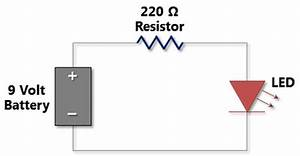 simple led circuit project wiring data With simple circuit breadboard view